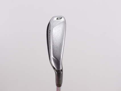 TaylorMade Speedblade Single Iron 8 Iron Stock Steel Shaft Steel Stiff Right Handed 37.0in