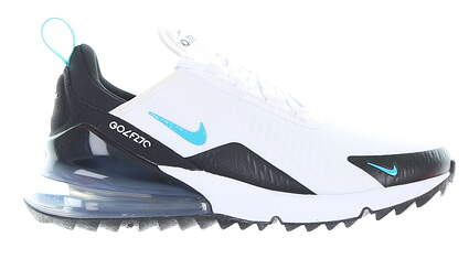 New Mens Golf Shoe Nike Air Max 270 G 7 White/Black MSRP $150 CK6483