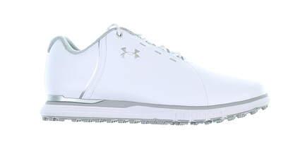 New Womens Golf Shoe Under Armour UA Fade SL 8.5 White MSRP $100 3021528-100