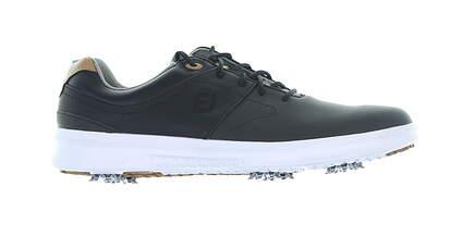 New Mens Golf Shoe Footjoy 2020 Contour Series Medium 11.5 Black MSRP $130 54180