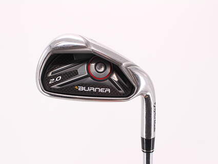TaylorMade Burner 2.0 HP Single Iron 4 Iron TM Burner 2.0 85 Steel Regular Right Handed 39.25in