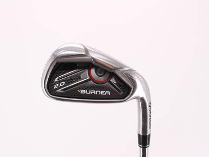TaylorMade Burner 2.0 HP Single Iron 6 Iron TM Burner 2.0 85 Steel Regular Right Handed 38.0in