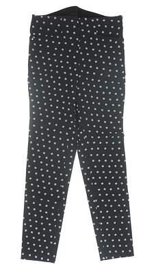 New Womens Ralph Lauren RLX Pants 8 Black MSRP $188