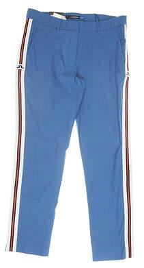 New Womens J. Lindeberg Kattis Pants 30 (US 10) Blue MSRP $145 92WG163740803