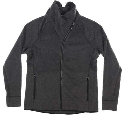 New Womens Cutter & Buck Cozy Fleece Jacket Medium M Gray MSRP $125 LCO00036