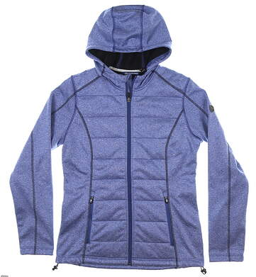 New Womens Cutter & Buck Altitude Quilted Jacket Medium M Blue MSRP $180 LCO00014