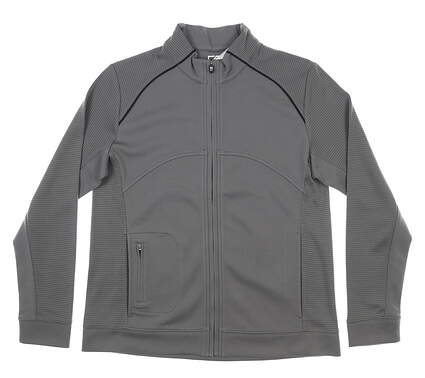 New Womens Cutter & Buck DryTec Edge Jacket Medium M Gray MSRP $110 LCK08514