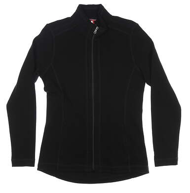 New Womens Cutter & Buck Jacket Medium M Black MSRP $90 LCK08687