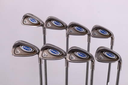 Ping i5 Iron Set 4-GW Ping TFC 100I Graphite Regular Right Handed White Dot 37.75in