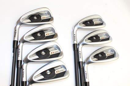 Mint Ping G400 Iron Set 4-PW ALTA CB Graphite Regular Left Handed Black Dot 38.25in