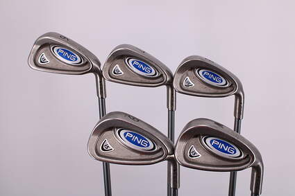 Ping i5 Iron Set 6-PW Ping TFC 100I Graphite Regular Right Handed Black Dot 37.5in