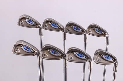 Ping i5 Iron Set 3-PW Ping CS Lite Steel Stiff Right Handed Black Dot 38.0in