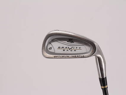 Cobra Gravity Back Single Iron 6 Iron 29.5° Cobra MSS Ultra Lightweight Graphite Regular Right Handed 37.75in
