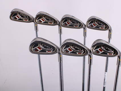 Ping G15 Iron Set 4-PW Ping AWT Steel Regular Right Handed Yellow Dot 37.75in