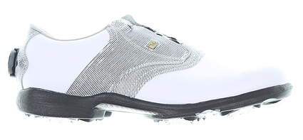 New Womens Golf Shoe Footjoy DryJoys BOA Medium 11 White/Black MSRP $180 99018