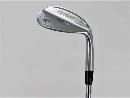 Cleveland CG15 Satin Chrome Wedge Gap GW 50° 10 Deg Bounce Dynalite Gold SL R300 Steel Regular Right Handed 35.5in