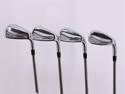 Tour Edge CB PROh Iron Set 7-PW UST Mamiya Recoil 460 F3 Graphite Regular Right Handed 37.25in
