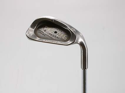 Ping G2 Single Iron 6 Iron Ping TFC 100I Graphite Regular Right Handed Black Dot 37.5in