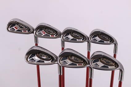 Ping G15 Iron Set 7-PW GW SW LW Ping TFC 149I Graphite Regular Right Handed Green Dot 37.5in