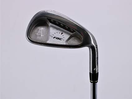TaylorMade Rac OS Single Iron 6 Iron TM Steel Regular Right Handed 37.5in