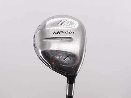 Mizuno MP-001 Fairway Wood 7 Wood 7W 21° Stock Graphite Shaft Graphite Regular Right Handed 41.5in