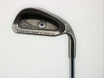 Ping Eye 2 Single Iron 8 Iron Ping ZZ Lite Steel Stiff Right Handed Blue Dot 36.75in
