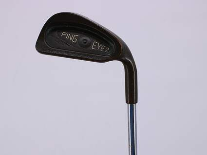 Ping Eye 2 Beryllium Copper Single Iron 3 Iron Stock Steel Shaft Steel Stiff Right Handed 39.75in