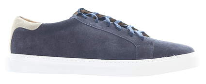 New Mens Golf Shoe Peter Millar Crown Suede Sneaker 13 Navy MSRP $198 MS20F05