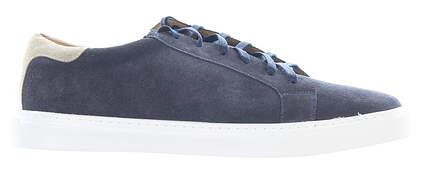 New Mens Golf Shoe Peter Millar Crown Suede Sneaker 13 Navy MSRP $198 MS20F05