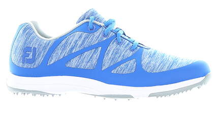 New Womens Golf Shoe Footjoy 2019 Leisure Medium 7.5 Blue MSRP $110 92907