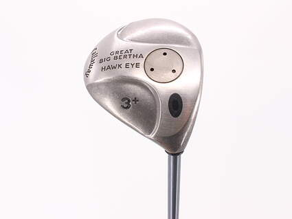 Callaway Hawkeye Fairway Wood 3+ Wood 13° Stock Graphite Shaft Graphite Regular Right Handed 43.75in