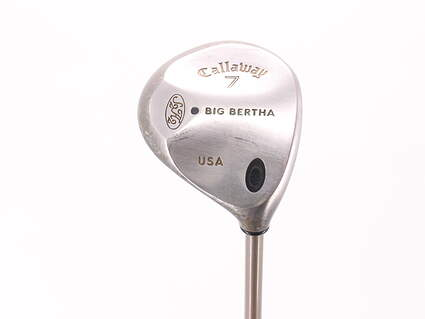 Callaway Big Bertha Fairway Wood 7 Wood 7W Callaway Gems Graphite Ladies Right Handed 40.5in