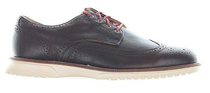 New Mens Golf Shoe Footjoy Club Casuals Medium 11.5 Brown MSRP $200 79057