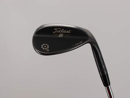 Titleist Vokey SM5 Raw Black Wedge Lob LW 58° 8 Deg Bounce M Grind Titleist SM5 BV Steel Wedge Flex Right Handed 36.0in