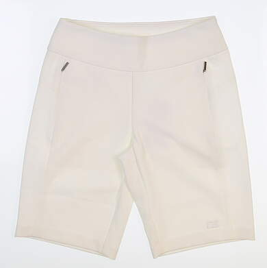 New Womens Cutter & Buck Micro Shorts X-Small XS White MSRP $70 LCB07135