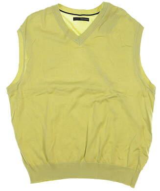 New Mens Greg Norman Essentials Sweater Vest X-Large XL Green MSRP $58 GNBAV121