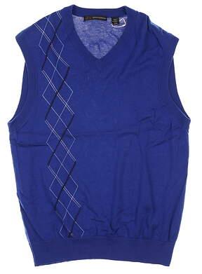 New Mens Greg Norman Sweater Vest Medium M Multi MSRP $68