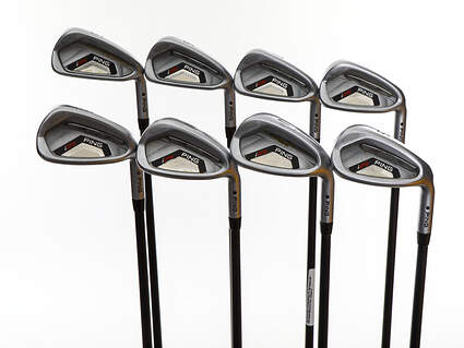 Ping I25 Iron Set 5-PW GW SW Ping TFC 189i Graphite Stiff Right Handed Black Dot 37.75in