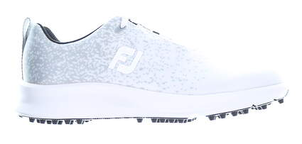 New Womens Golf Shoe Footjoy 2020 Leisure Medium 6 White/Grey MSRP $110 92922