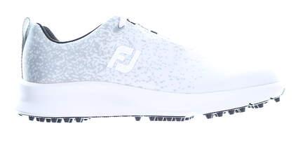 New Womens Golf Shoe Footjoy 2020 Leisure Medium 8.5 White/Grey MSRP $110 92922