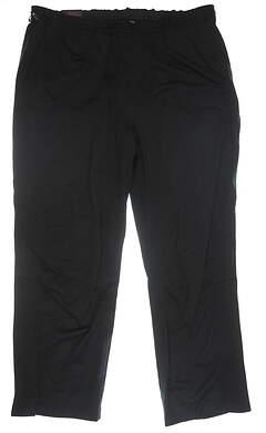 New Mens Greg Norman Rain Pants XX-Large XXL Black MSRP $90 G7F7P431
