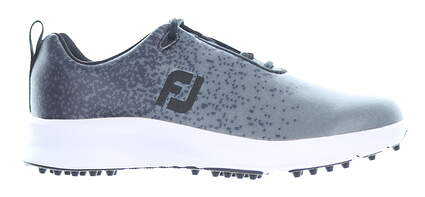 New Womens Golf Shoe Footjoy Prior Generation Leisure Medium 7.5 Gray MSRP $110 92925