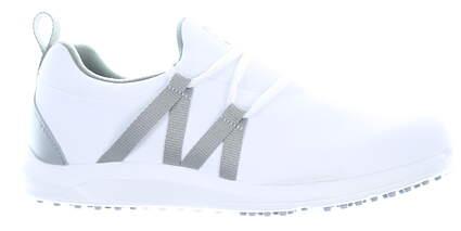 New Womens Golf Shoe Footjoy Prior Generation FJ Leisure Slip-On Medium 6 White/Grey MSRP $100 92917