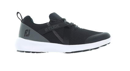 New Womens Golf Shoe Footjoy Prior Generation FJ Flex Medium 5 Black MSRP $90 95728