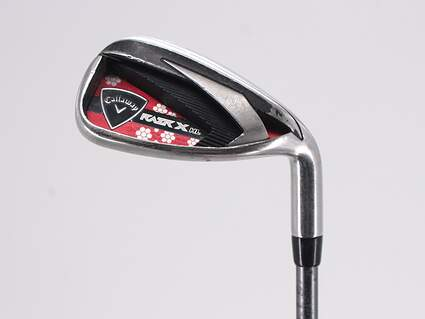 Callaway Razr X HL Single Iron 9 Iron Callaway 50 Gram Graphite Ladies Right Handed 35.5in