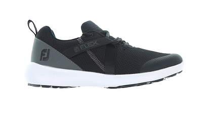 New Womens Golf Shoe Footjoy Prior Generation FJ Flex Wide 8.5 Black MSRP $90 95728