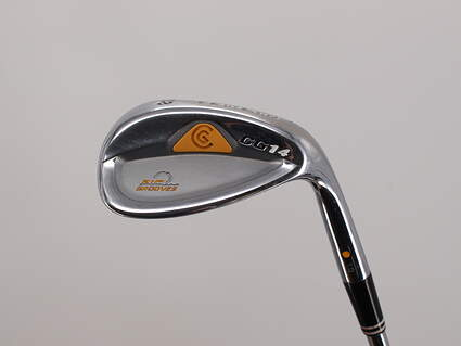 Cleveland CG14 Wedge Lob LW 58° 10 Deg Bounce Dynamic Gold Sensicore R300 Steel Regular Right Handed 35.75in