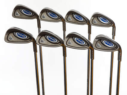Ping i5 Iron Set 3-PW Ping AWT Steel Stiff Right Handed Black Dot 37.75in