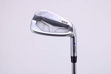 Ping S55 Single Iron 8 Iron Ping CFS Steel Stiff Right Handed Blue Dot 38.0in