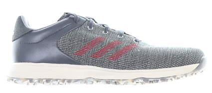 New Mens Golf Shoe Adidas S2G Medium 13 Gray MSRP $100 EF0690